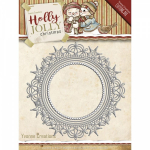 Find It - YCD10067 -Yvonne Creations - Holly Jolly Nesting frame