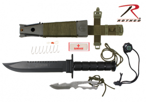 Bilde av Deluxe Jungle Survival Kit Knife
