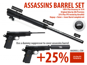 Bilde av Assassins Set 235mm til WE1911